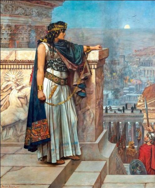 La capitale de la reine rebelle Zénobie sera partiellement détruite par l'empereur romain Aurélien en 272 après J.-C. Quelle est-elle ?