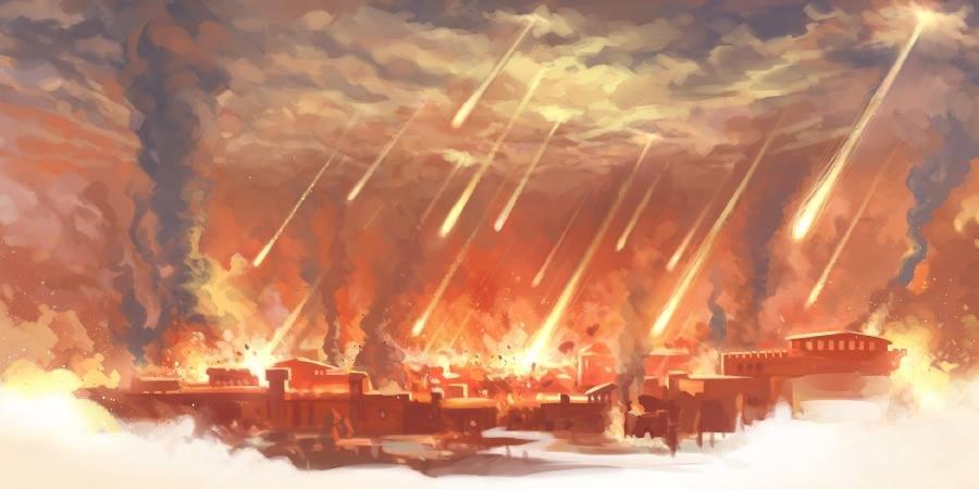 Anciennes cités détruites