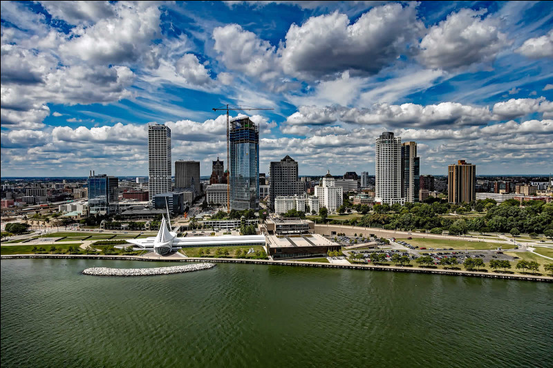 Milwaukee, 600 000 habitants, est une ville d'...
