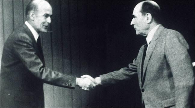 Quelle élection présidentielle emporte-t-il face au représentant de l'Union de la gauche François Mitterrand ?