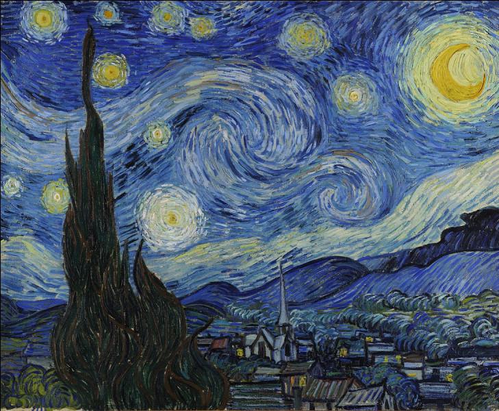 """Où le tableau """"La Nuit étoilée"""" de van Gogh se trouve-t-il ?"""