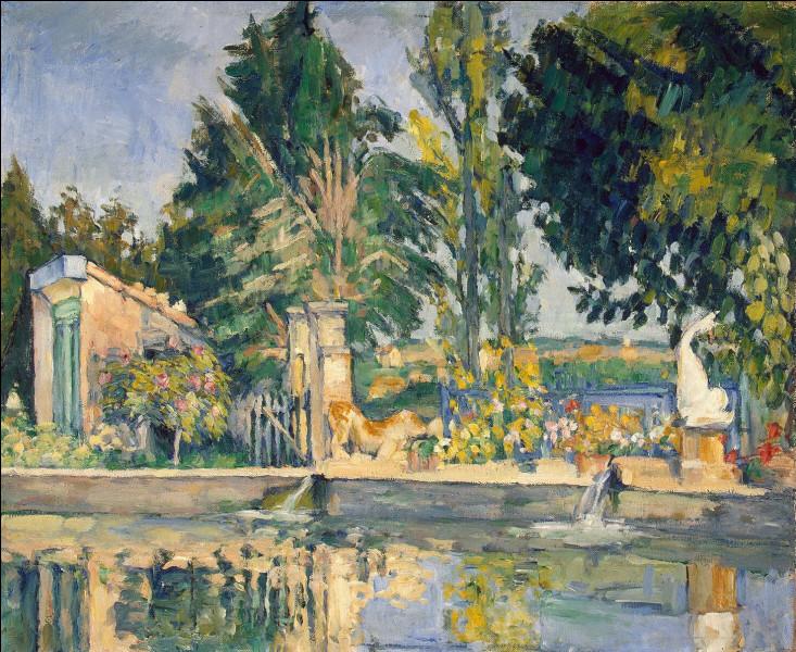 """Où le tableau """"Le Bassin du Jas de Bouffan"""" de Paul Cézanne se trouve-t-il ?"""