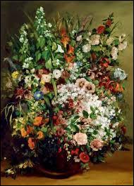 """Où le tableau """"Vase de fleurs"""" de Gustave Courbet se trouve-t-il ?"""