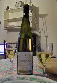 Le Gewurztraminer est un vin blanc d'Alsace.