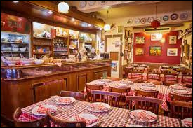 """Les """"Bouchons"""" sont des restaurants typiques du Pays basque."""