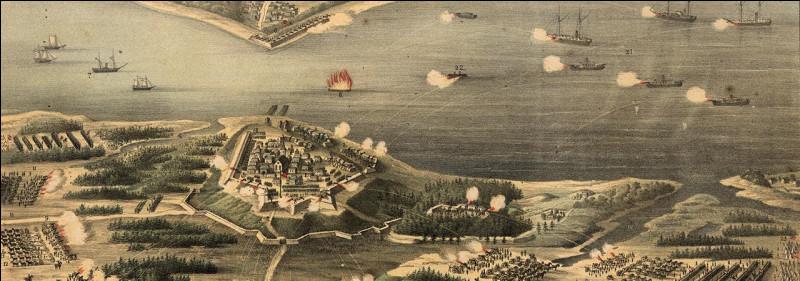 La bataille de Yorktown, aux États-Unis, se déroule lors...