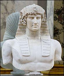 C'est la coiffe des pharaons.
