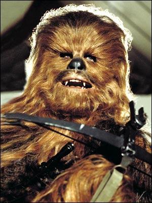 Comment se nomme ce Wookiee, fidèle compagnon d'Han Solo ?