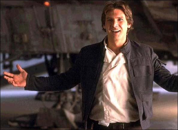 Quel est le nom du vaisseau d'Han Solo ?