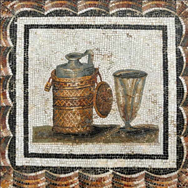 Dans l'Antiquité romaine, cette boisson était composée de vinaigre et d'eau :