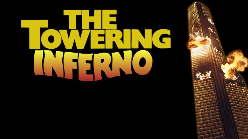 """Je suis dans le long-métrage """"La Tour infernale"""".Je suis..."""
