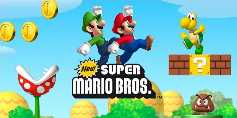 """En quelle année est sorti le jeu """"Mario Bros"""" ?"""
