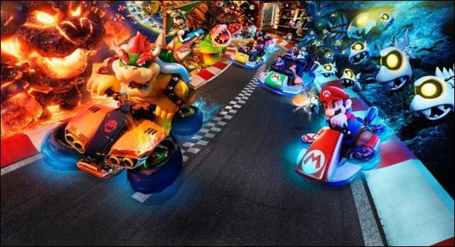 """En quelle année est sorti """"Mario Kart"""" ?"""