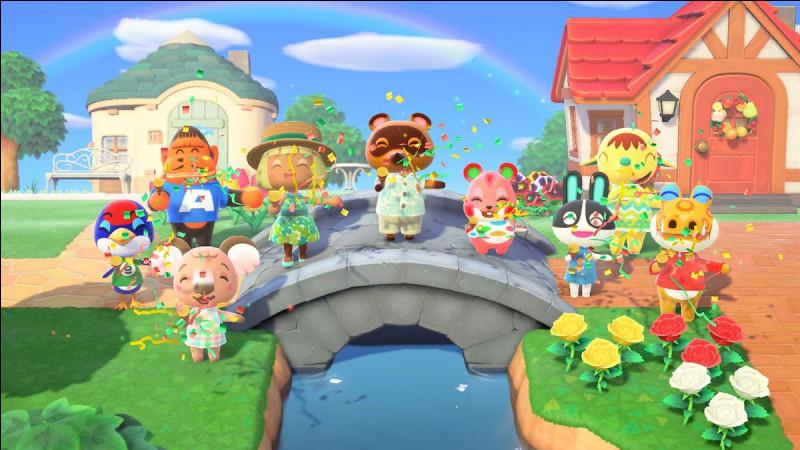 """En quelle année est sorti """"Animal Crossing"""" ?"""