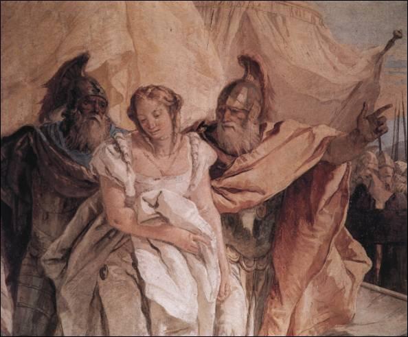 De quel héros Briséis était-elle la favorite pendant la Guerre de Troie ?