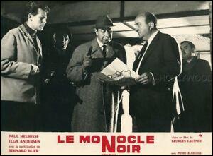 """J'ai joué dans le film """"Le Monocle noir"""".Qui suis-je ?"""