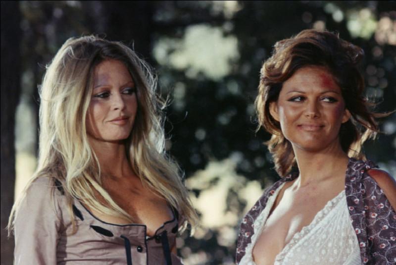 En 1971, dans quel film Brigitte Bardot joue-t-elle une hors la loi avec Claudia Cardinale ?