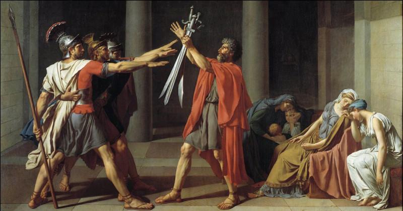 """Qui a peint le tableau """"Le Serment des Horaces"""" en 1784 ?"""
