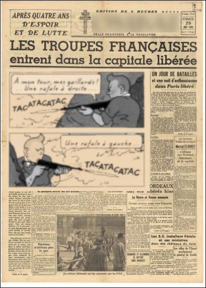"""Durant l'Occupation, il prend la direction de ce célèbre """"titre"""" [...lequel ?], qui se revendique comme la « voix de la France nouvelle »."""