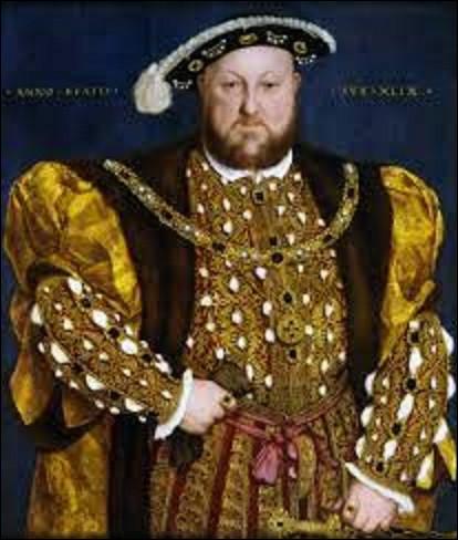 11 juillet 1533 : Quel roi d'Angleterre est excommunié par le pape, rompant ainsi avec l'Église romaine et créant par la même occasion l'Église anglicane ?