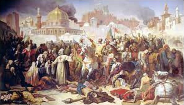 15 juillet 1099 : Quelle ville tombe aux mains des Croisés lors de la première croisade ?