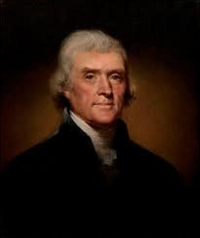 4 juillet 1776 : Réunis à Philadelphie, les représentants des 13 colonies britanniques du Nord proclament leur indépendance. Quel homme politique, futur président des États-Unis, rédige cet acte ?
