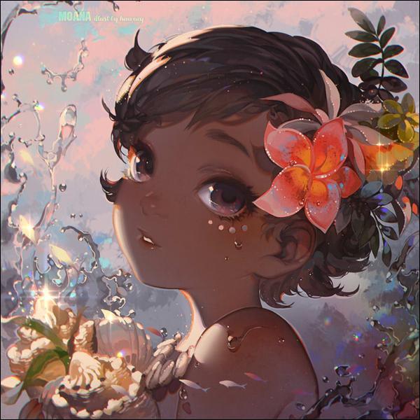 Qui est cette très jeune enfant qui vient de trouver un coquillage qui va changer sa destinée ?