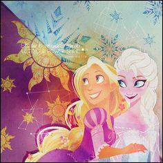 Qui sont les deux princesses derrière Pascal et Bruny ?