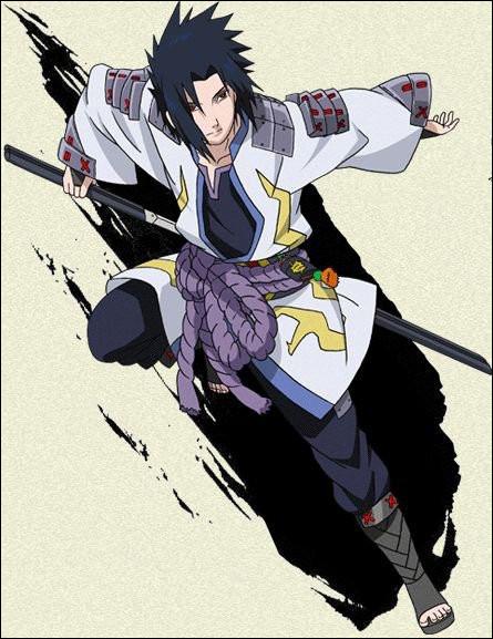 Naruto : Qui est ce personnage représenté en samouraï ?