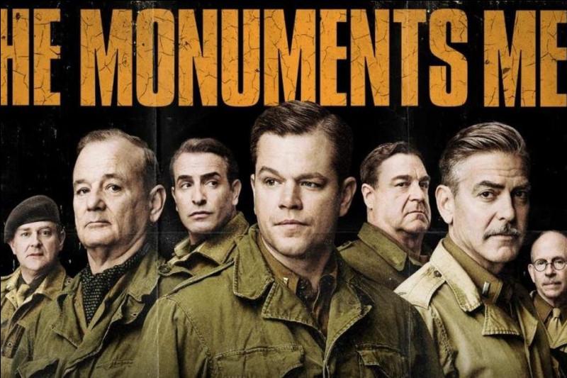 """Je joue dans """"The American"""" et """"Monuments Men"""".Je suis donc :"""