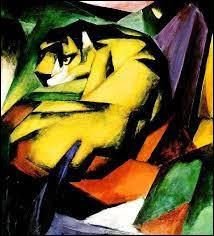"""F : Qui a peint ce tableau intitulé """"Le Tigre"""" appartenant au mouvement du fauvisme ?"""