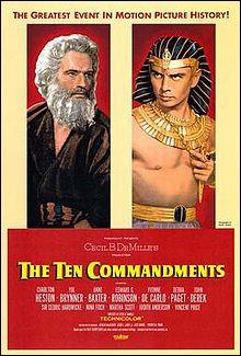 """Je crève l'écran dans """"Les Dix commandements"""" et """"Soleil vert"""".Je suis donc..."""