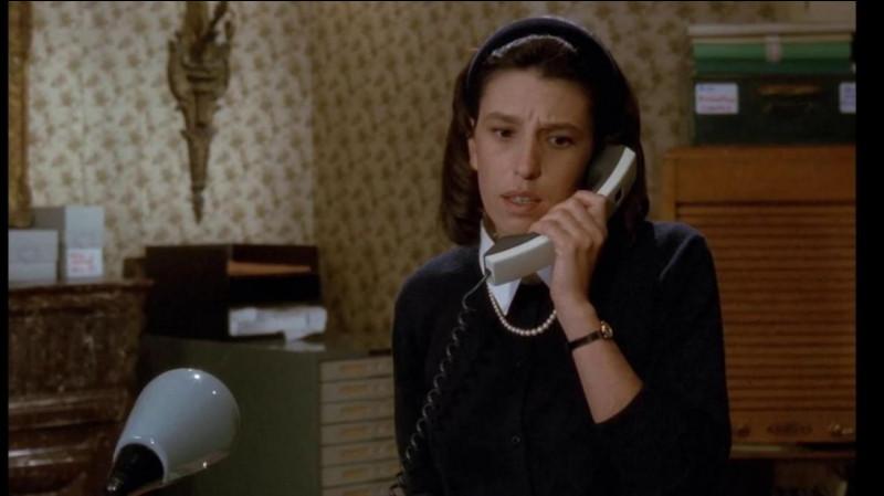 Ecoutez Thérèse, je n'aime pas dire du mal des gens, mais effectivement elle est gentille !
