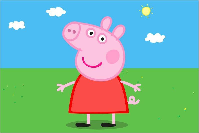 Quel est ce dessin animé avec une famille de cochon ?