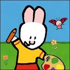 Quel est ce dessin animé où un lapin dessine des animaux ou des objets qui deviennent réels ?