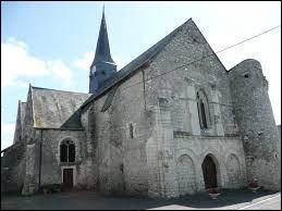 Ancienne commune Angevine, Chigné se trouve en région ...