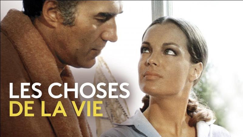 """Je joue dans """"Les Choses de la vie"""" et """"César et Rosalie"""".Je suis :"""