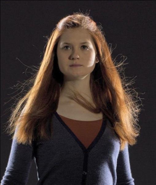 Dans quelle maison est Ginny Weasley ?