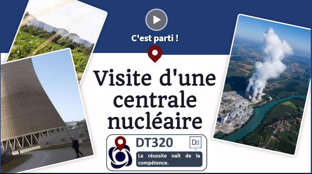 Visite d'une centrale nucléaire