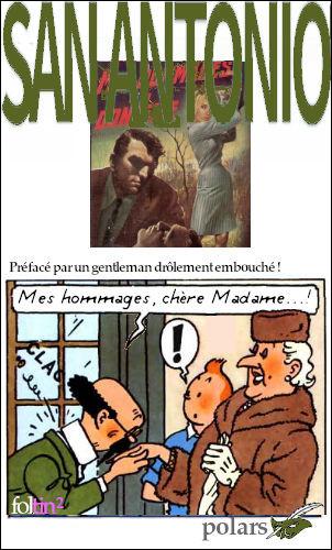 """Le 4e titre est encore un joyeux mélange des registres de la langue française... """"Mes hommages..."""""""