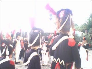 Quel était le nom donné aux soldats de la Vieille Garde de Napoléon ?