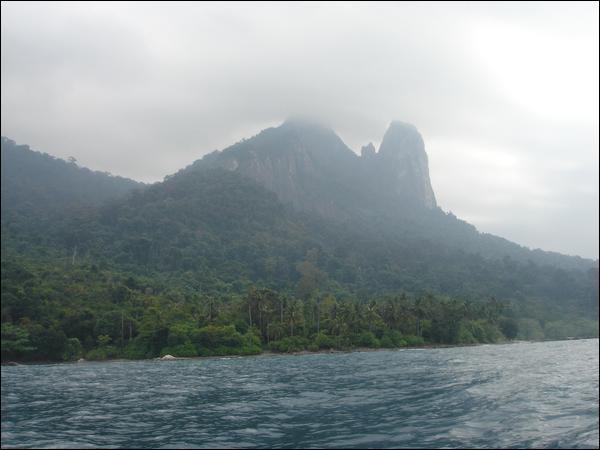 Dans la série l'île est :