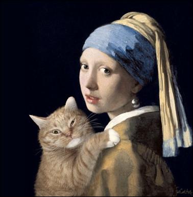 Quel est le nom de cette peinture de Johannes Vermeer ?