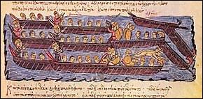 En l'an 880, la bataille de Céphalonie, connue comme l'un des rares exemples d'une bataille navale du Moyen-Âge qui s'est déroulée de nuit, oppose ...