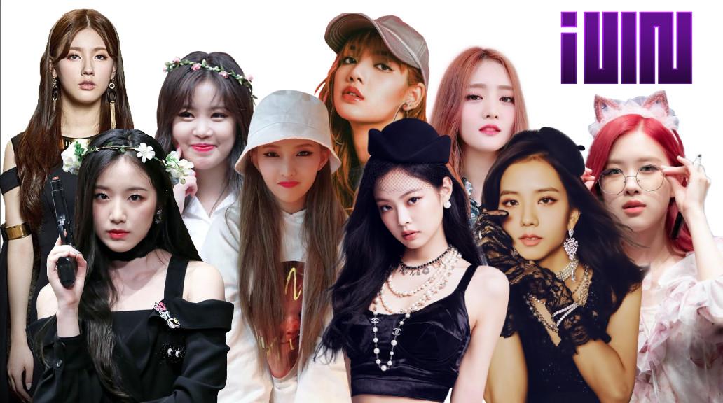 Quelles sont ces idoles femmes de K-pop ?