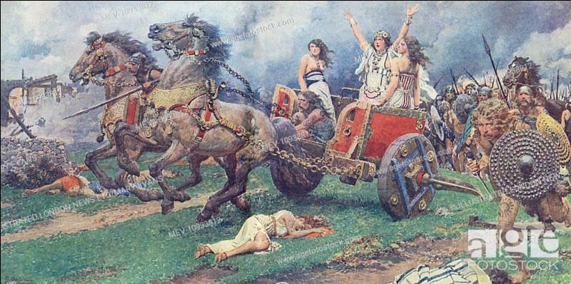 Cette reine guerrière du Ier siècle, dirigea la grande révolte des Bretons contre l'occupant romain au Ier siècle. Qui est-elle ?
