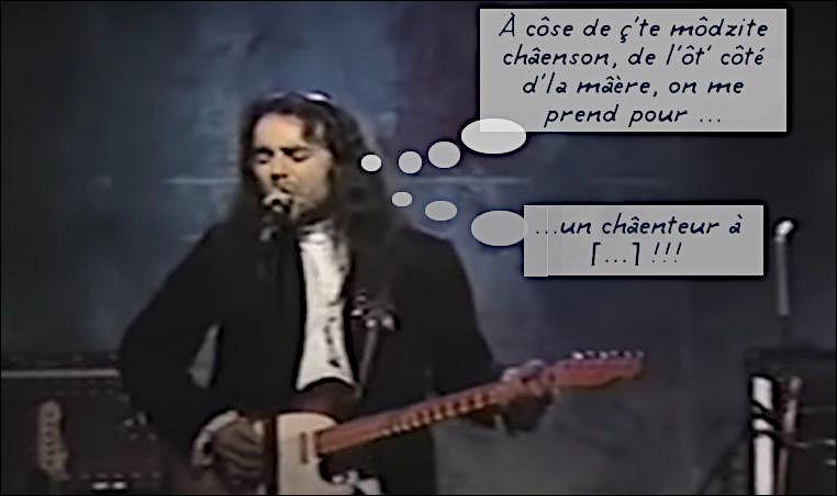 Un artiste d'outre-st-Laurent, malheureusement connu pour une seule de ses ballades, lui qui a collaboré avec U2, Brian Eno, Neil Young, Peter Gabriel, etc. ! Quel est son nom ?