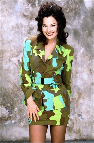Fran a un sens très particulier de la mode. Quel drôle de tailleur pantalon porte-t-elle dans l'un des épisodes (photo non contractuelle comme on dit) ?