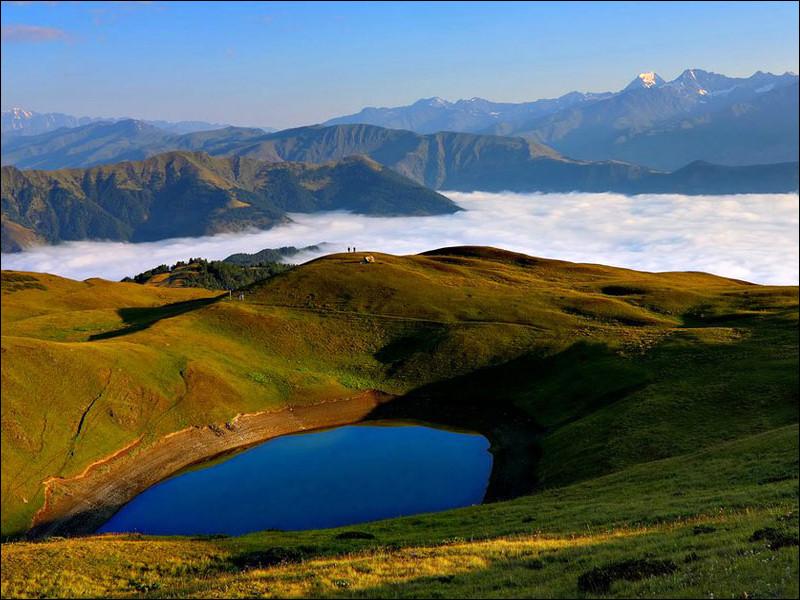Encore une région où vous pourrez passer rapidement du bord de mer à la montagne. Où situez-vous l'Adjarie ?