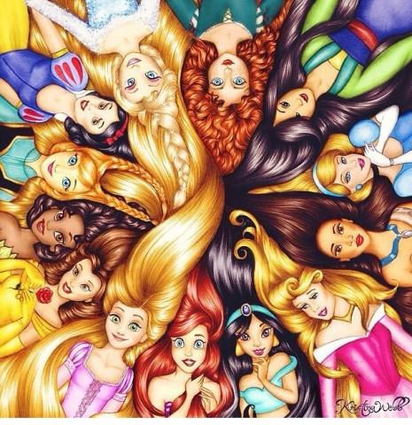Les princesses Disney en personnages d'autres films